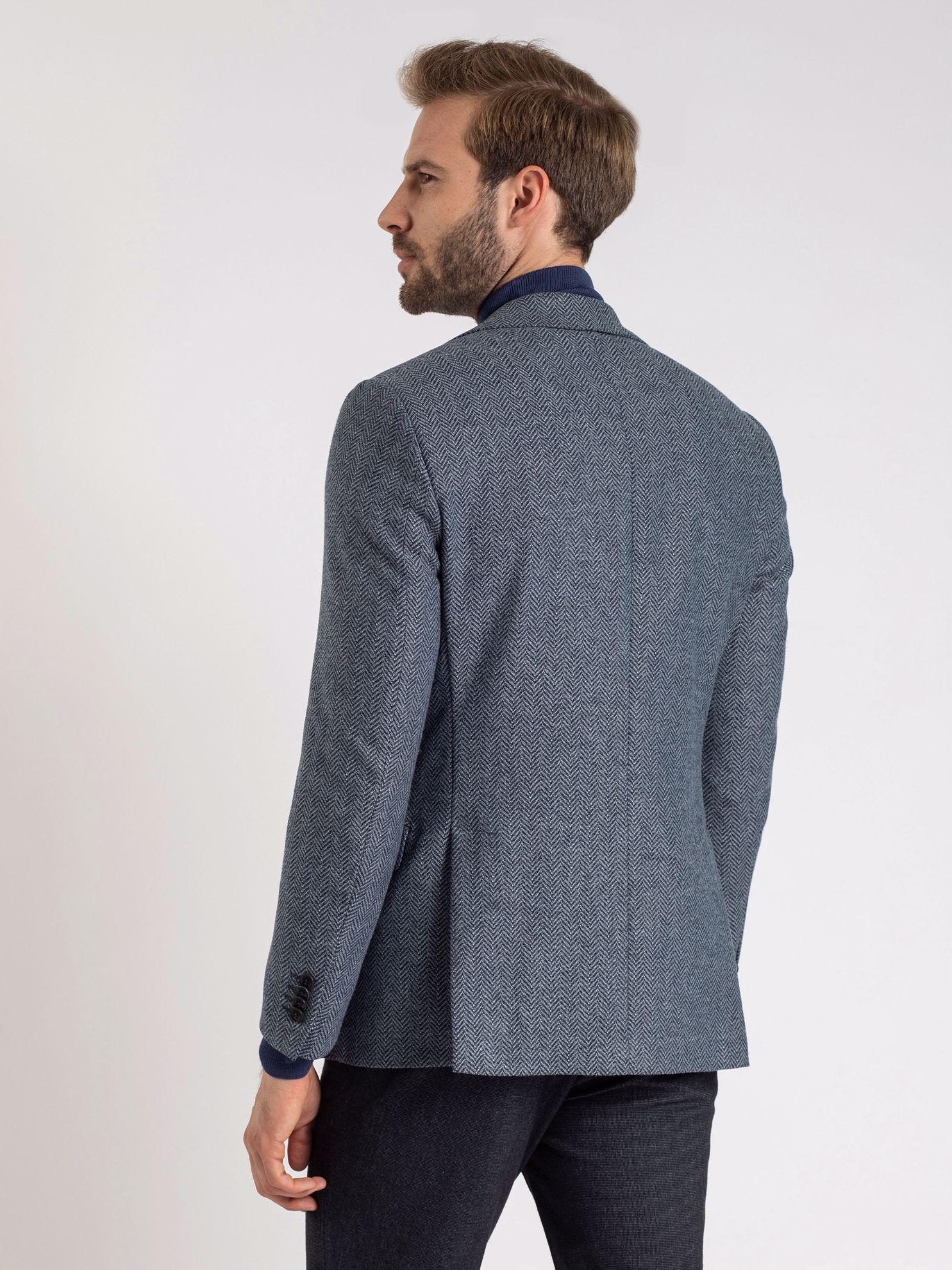 Karaca Erkek 6 Drop Ceket-Mavi. ürün görseli