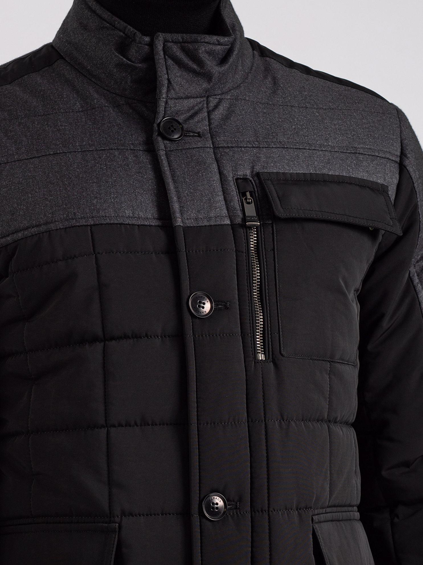 Karaca Erkek Mont-Siyah. ürün görseli