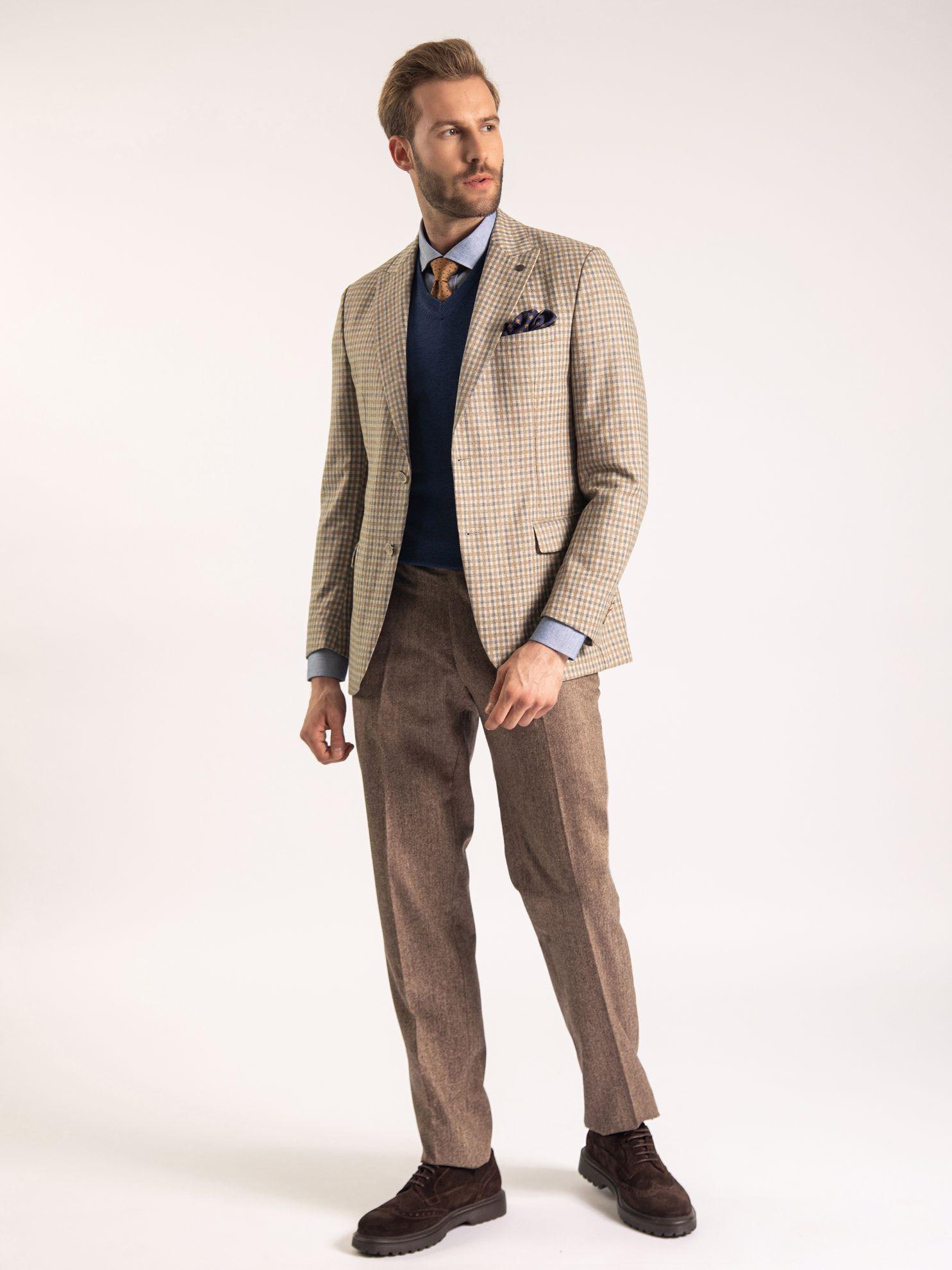 Karaca Erkek 6 Drop Ceket-Bej. ürün görseli