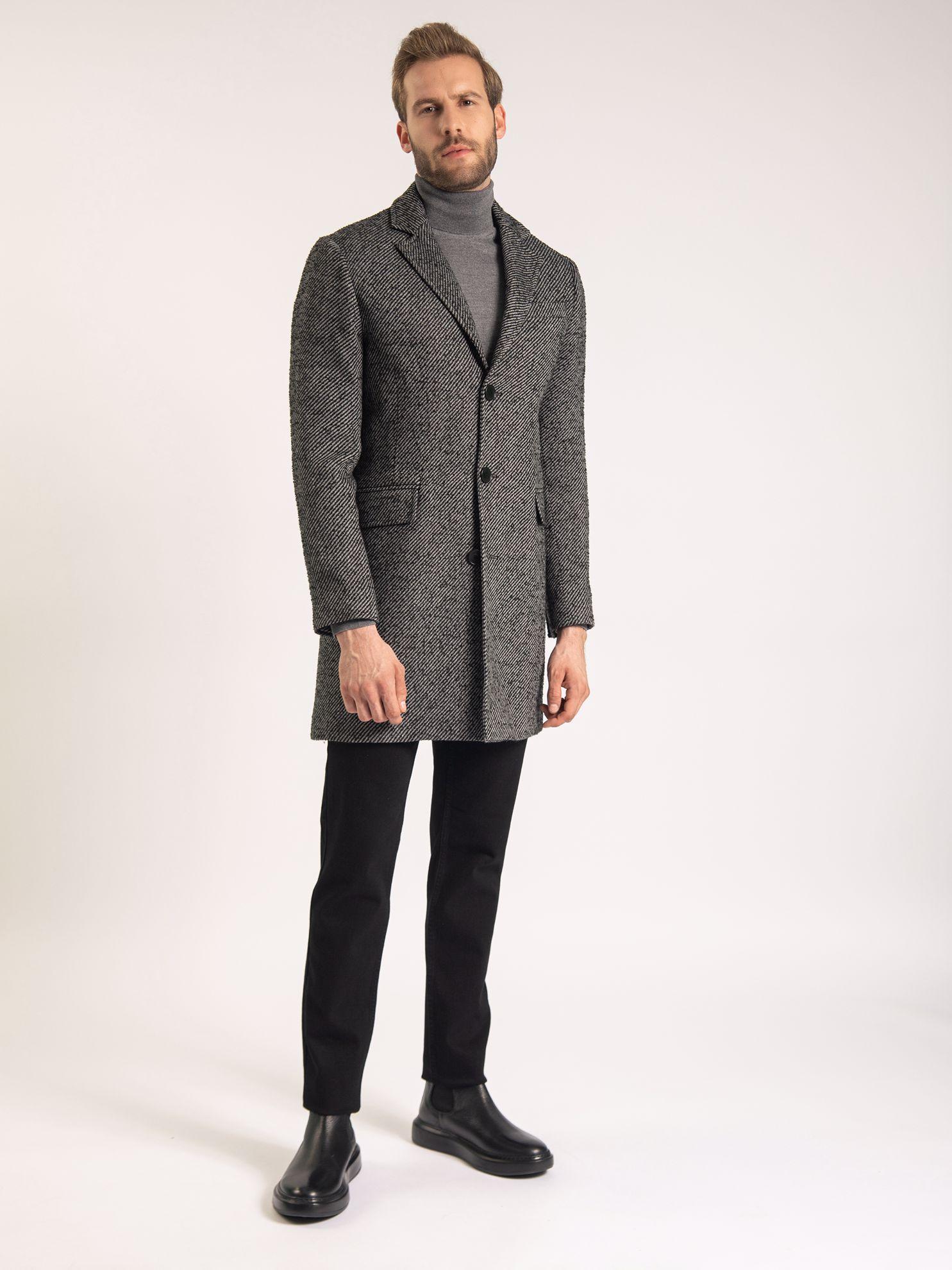 Karaca Erkek Palto-Siyah. ürün görseli
