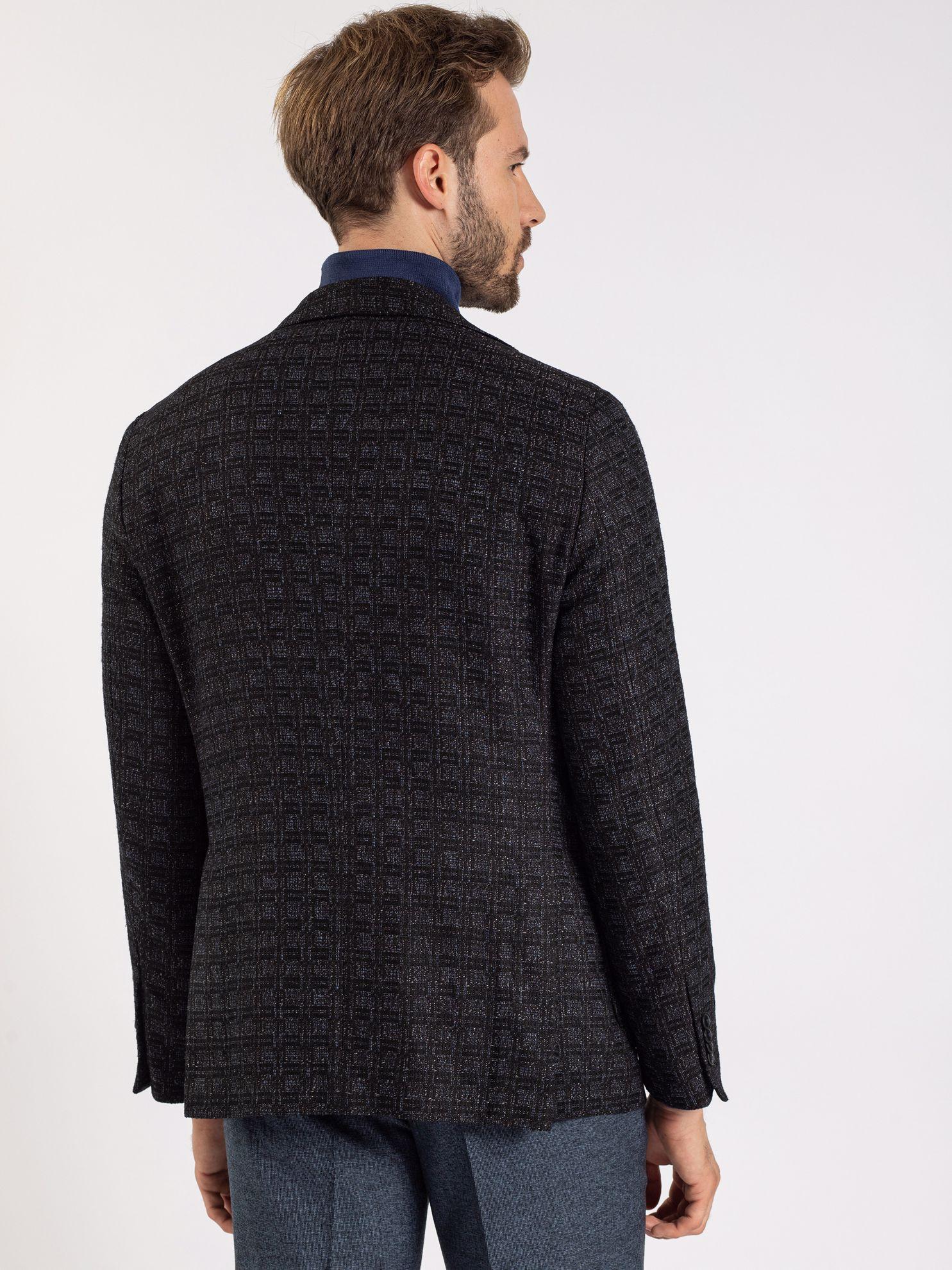 Toss Erkek 6 Drop Ceket-Siyah. ürün görseli