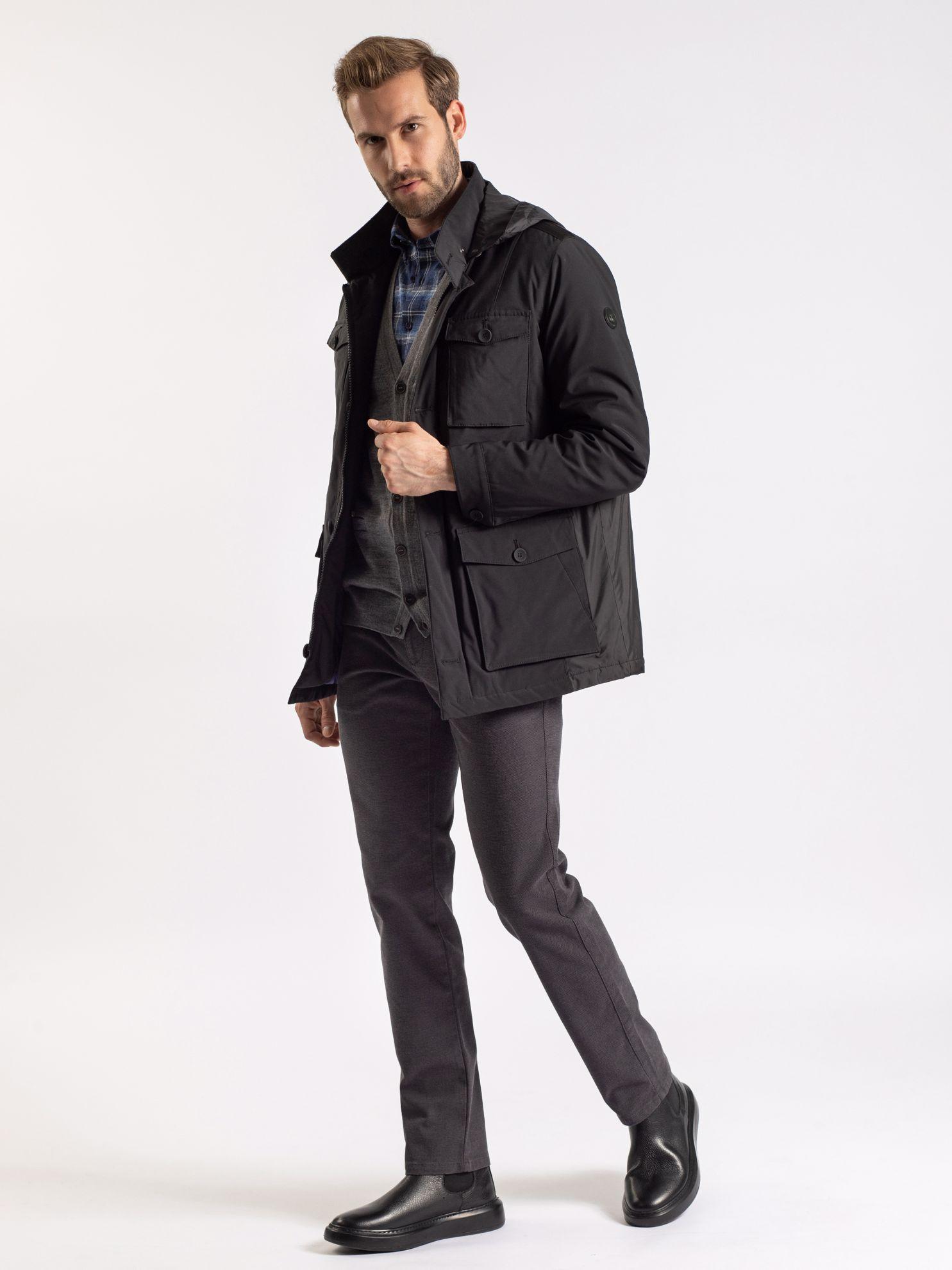 Karaca Erkek Kaban-Siyah. ürün görseli
