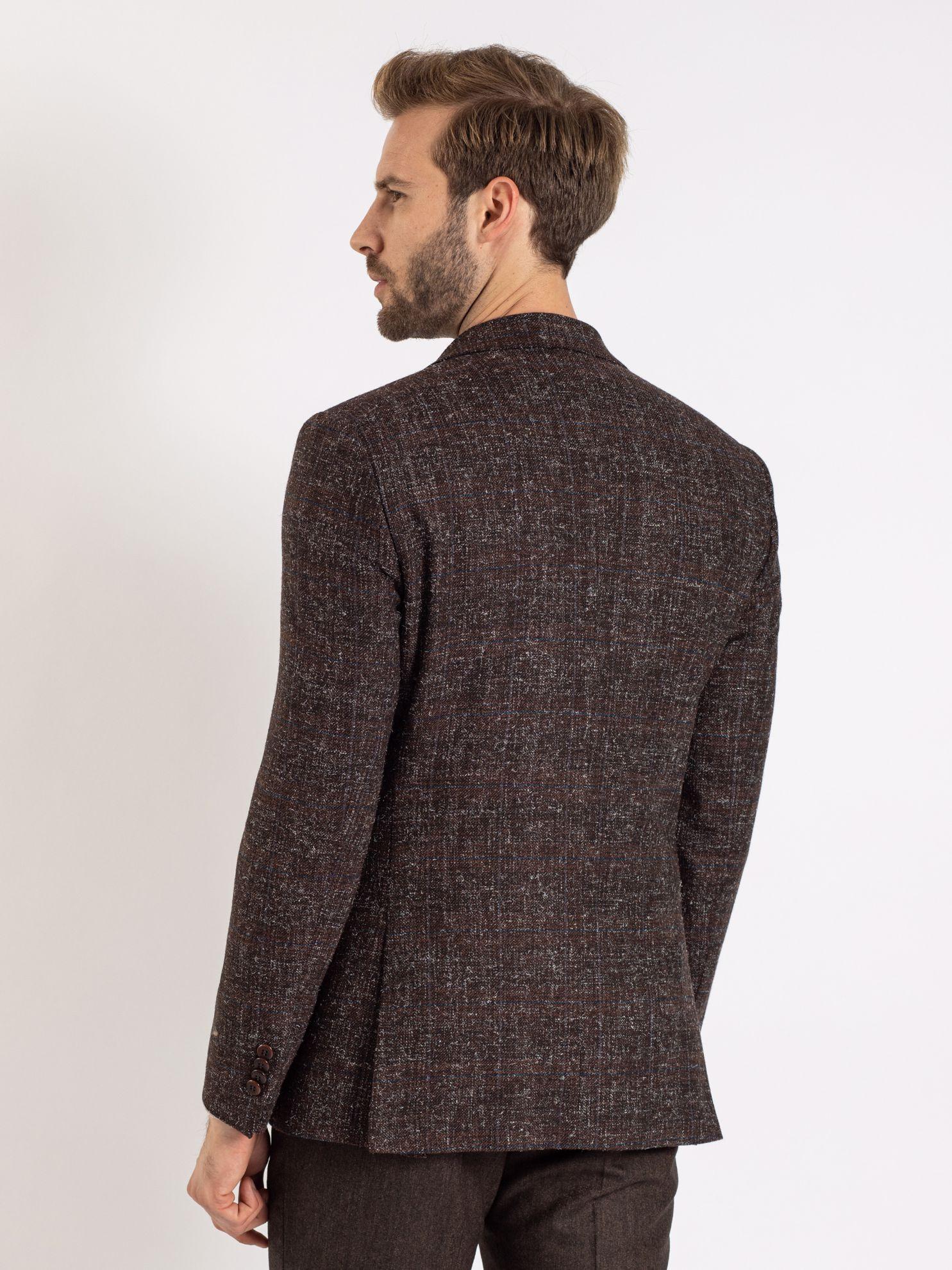 Toss Erkek 6 Drop Ceket-Kahverengi. ürün görseli