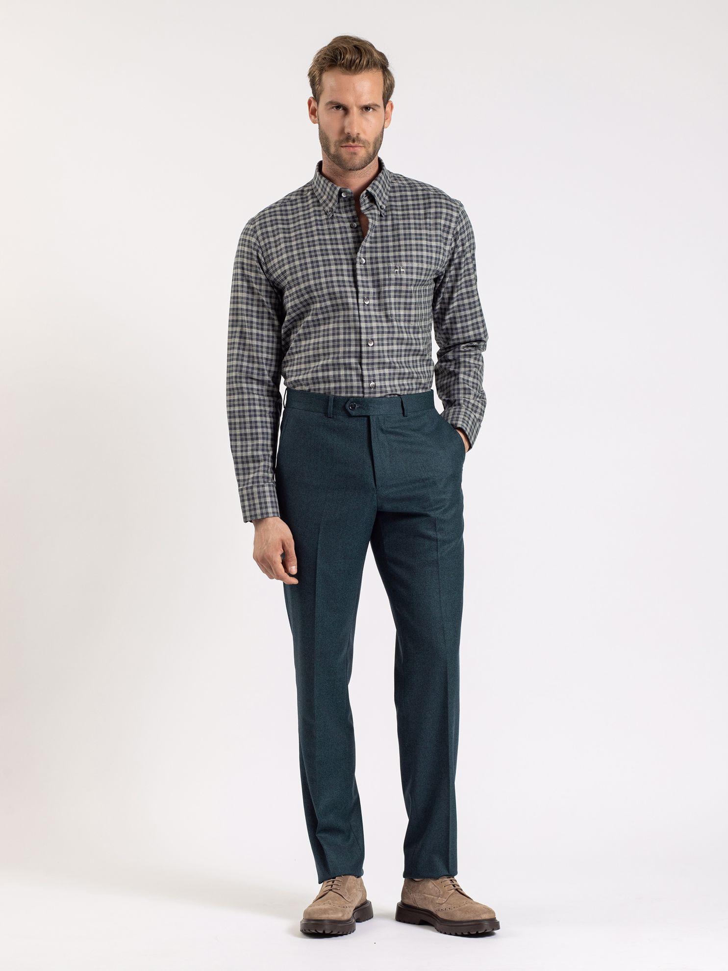 Karaca Erkek Pantolon-Petrol. ürün görseli