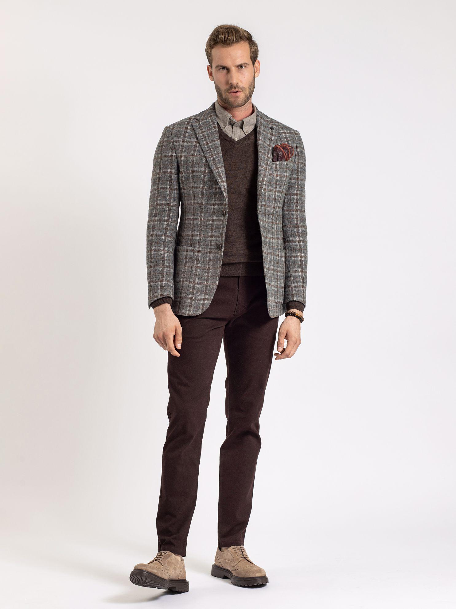 Karaca Erkek 6 Drop Ceket-Gri. ürün görseli