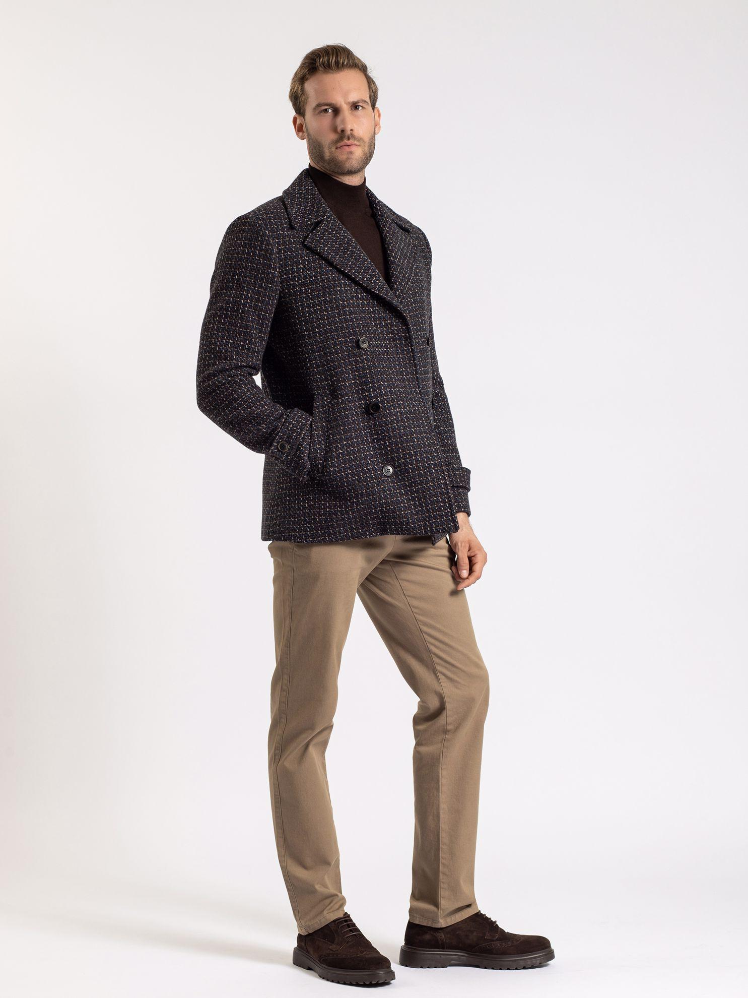 Karaca Erkek Kaban-Kahverengi. ürün görseli