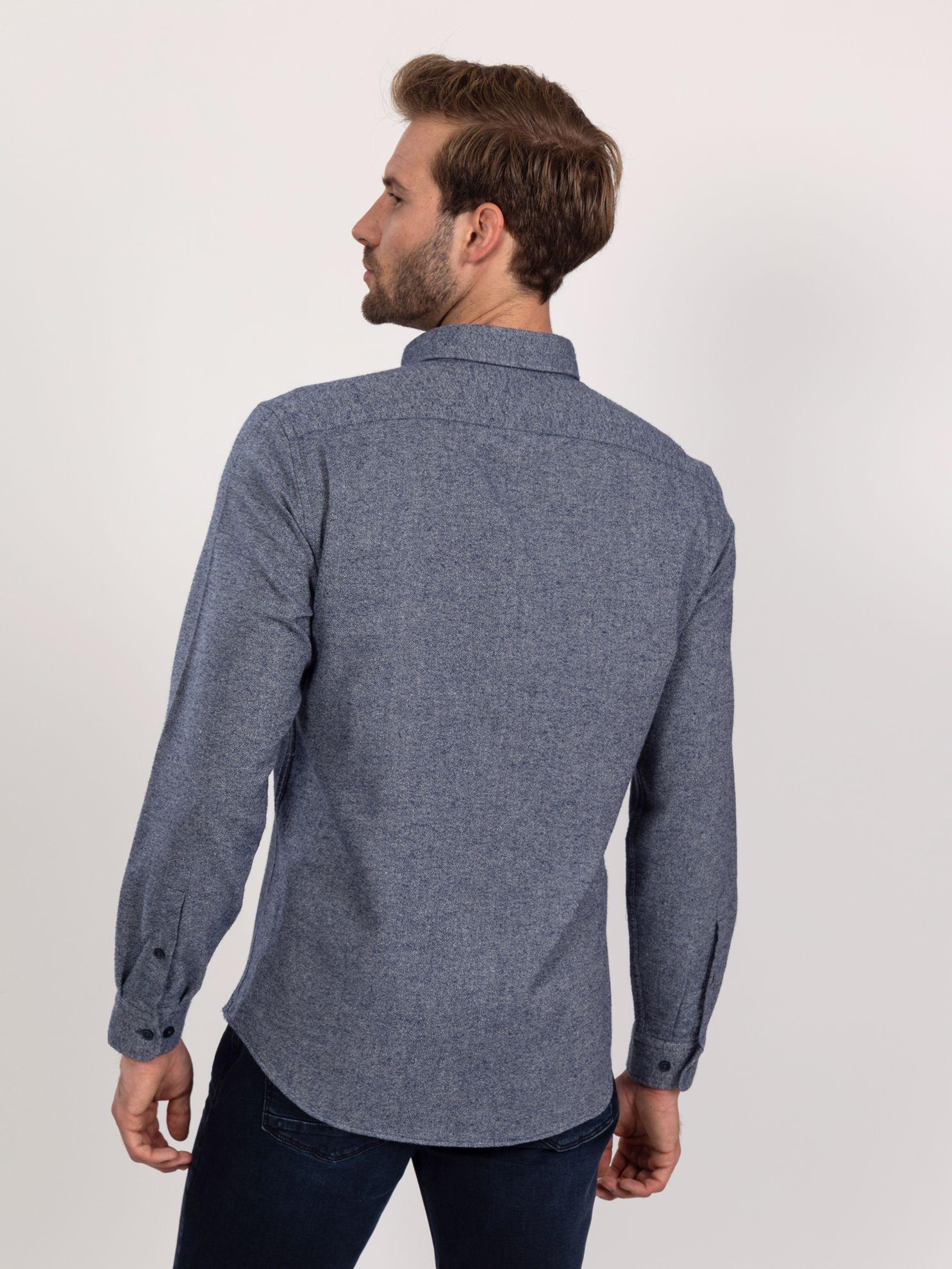 Karaca Erkek Slım Fıt Gömlek-Lacivert. ürün görseli