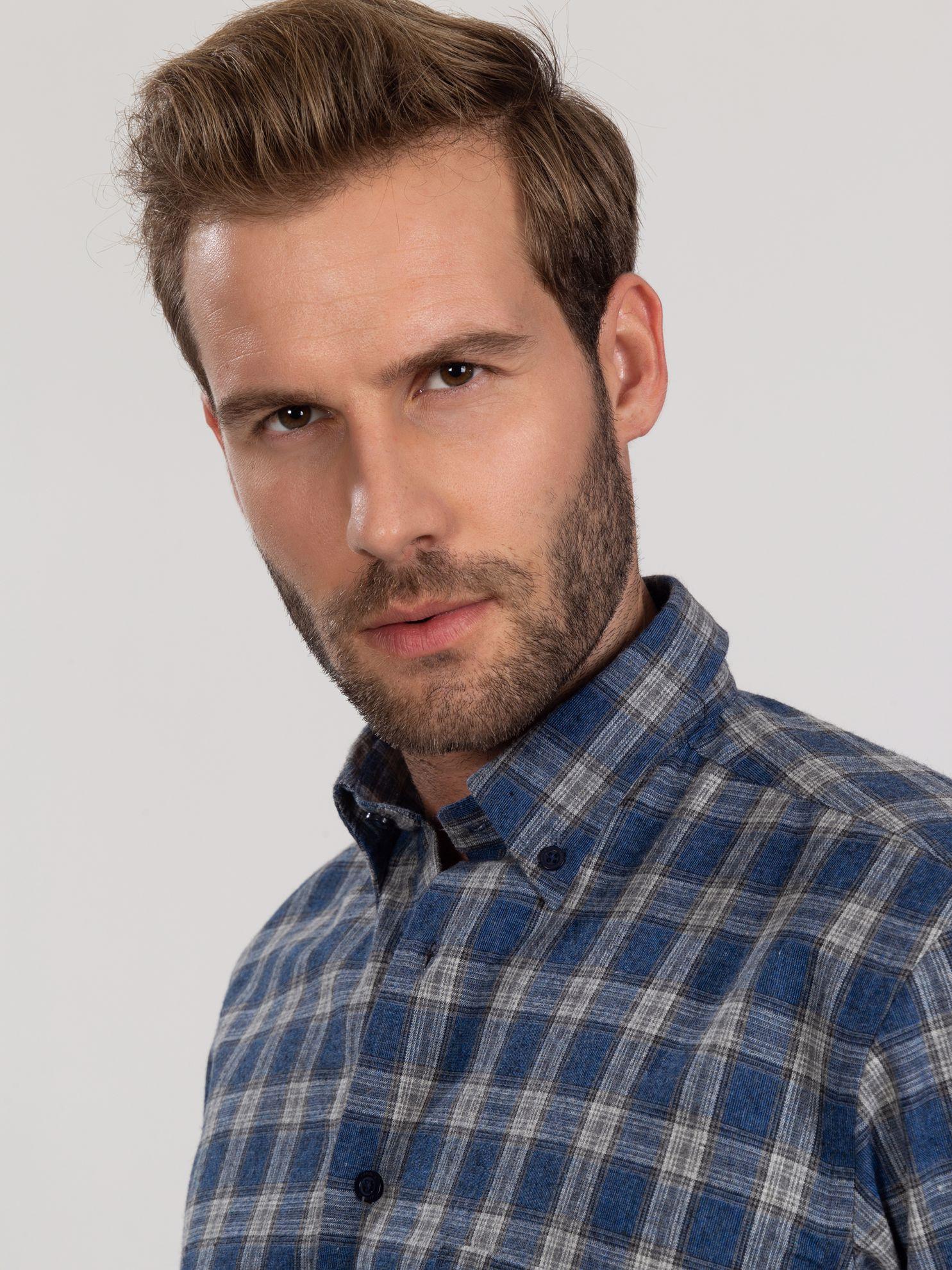 Picture of Karaca Erkek Regular Fıt Gömlek-İndigo
