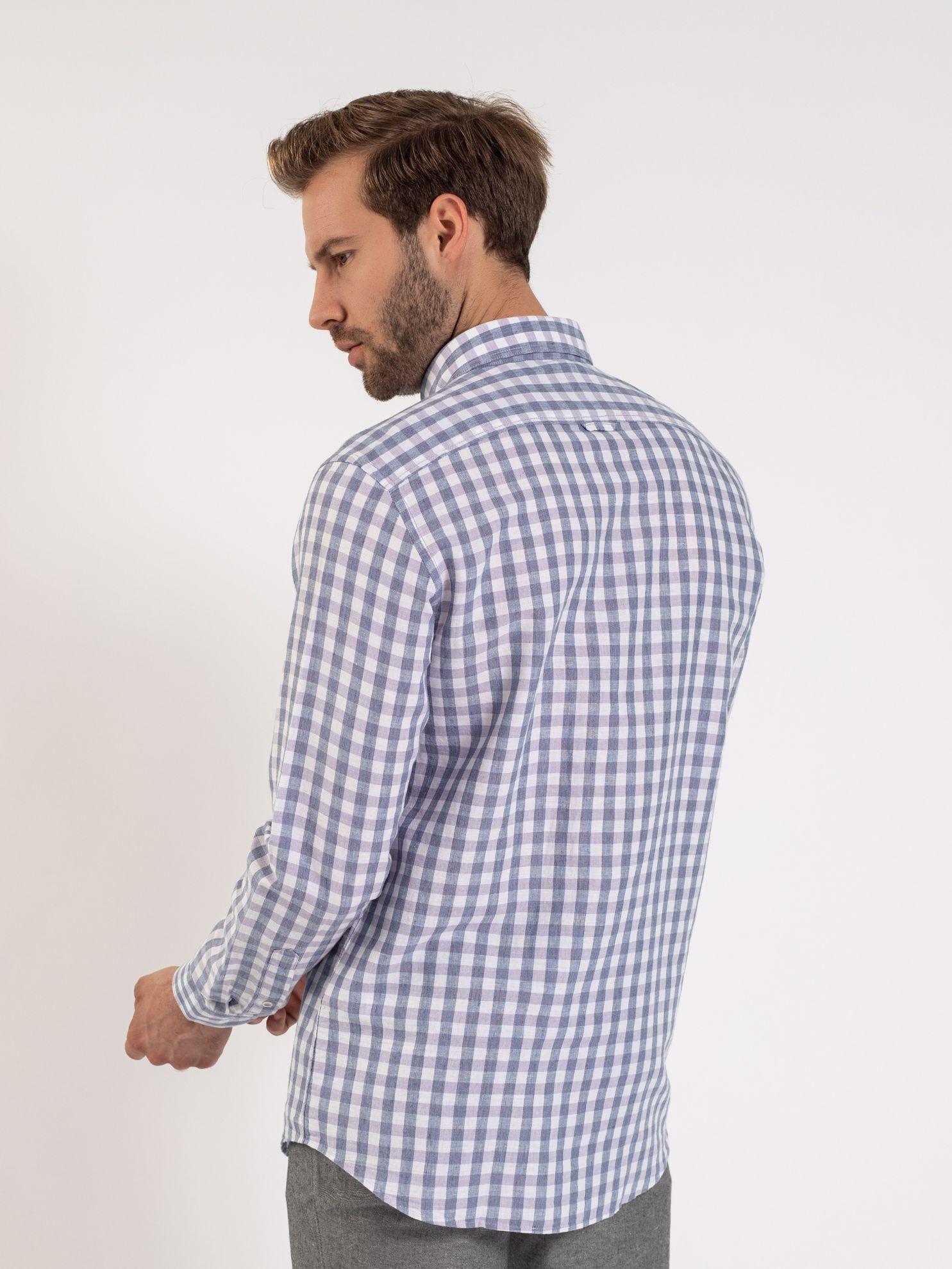 Karaca Erkek Slım Fıt Gömlek-Lila. ürün görseli