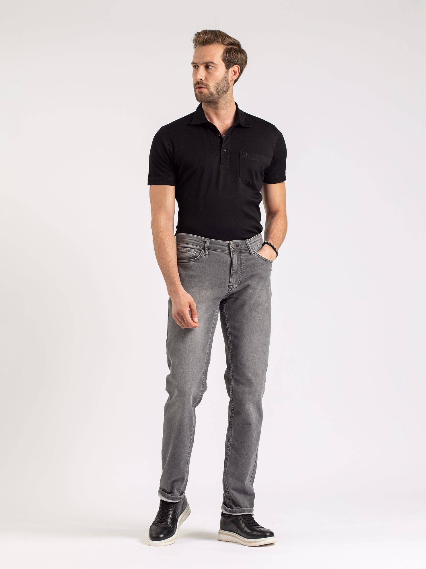 Karaca Erkek Jean-Gri. ürün görseli