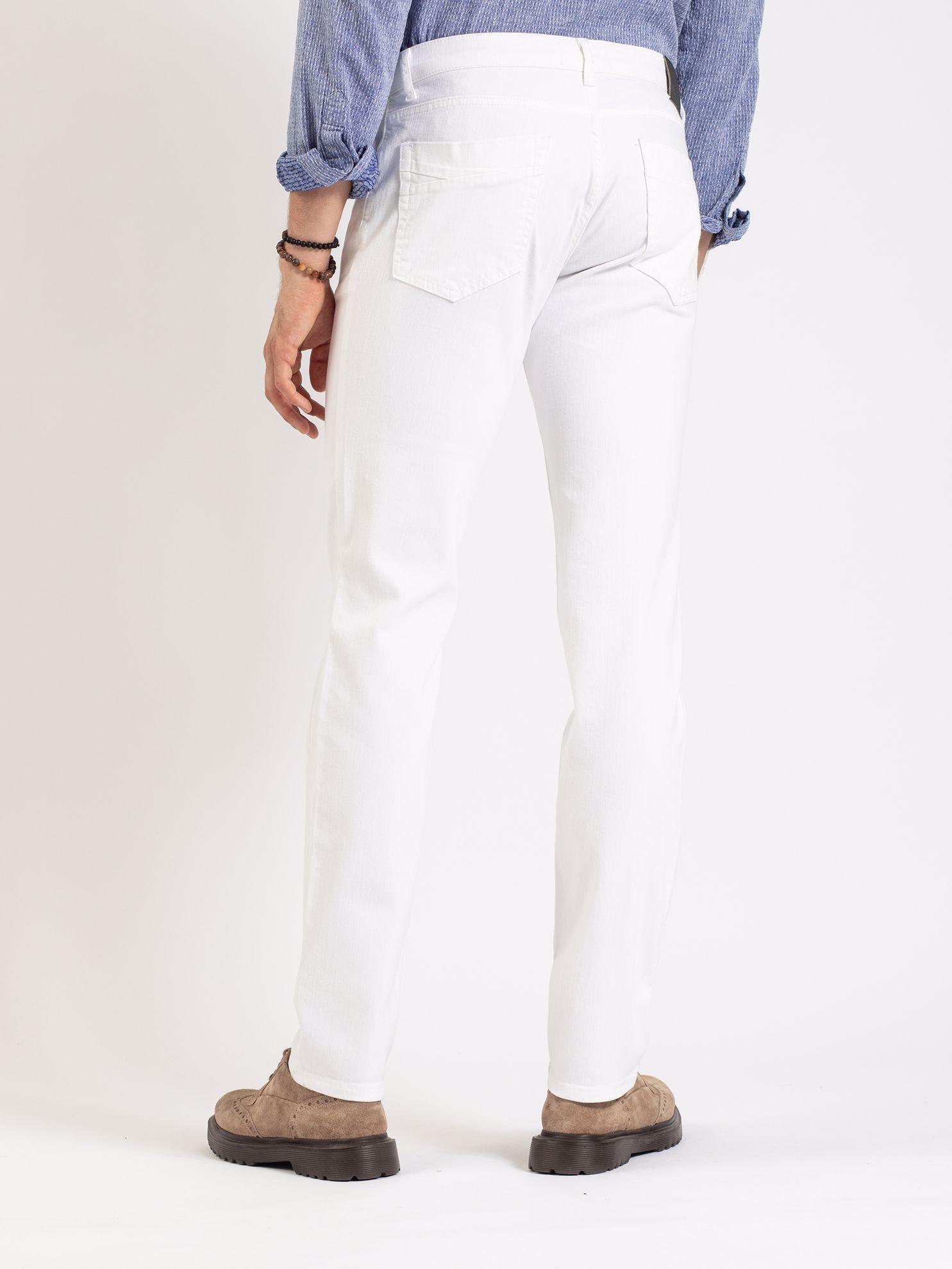 Toss Erkek Jean-Beyaz. ürün görseli