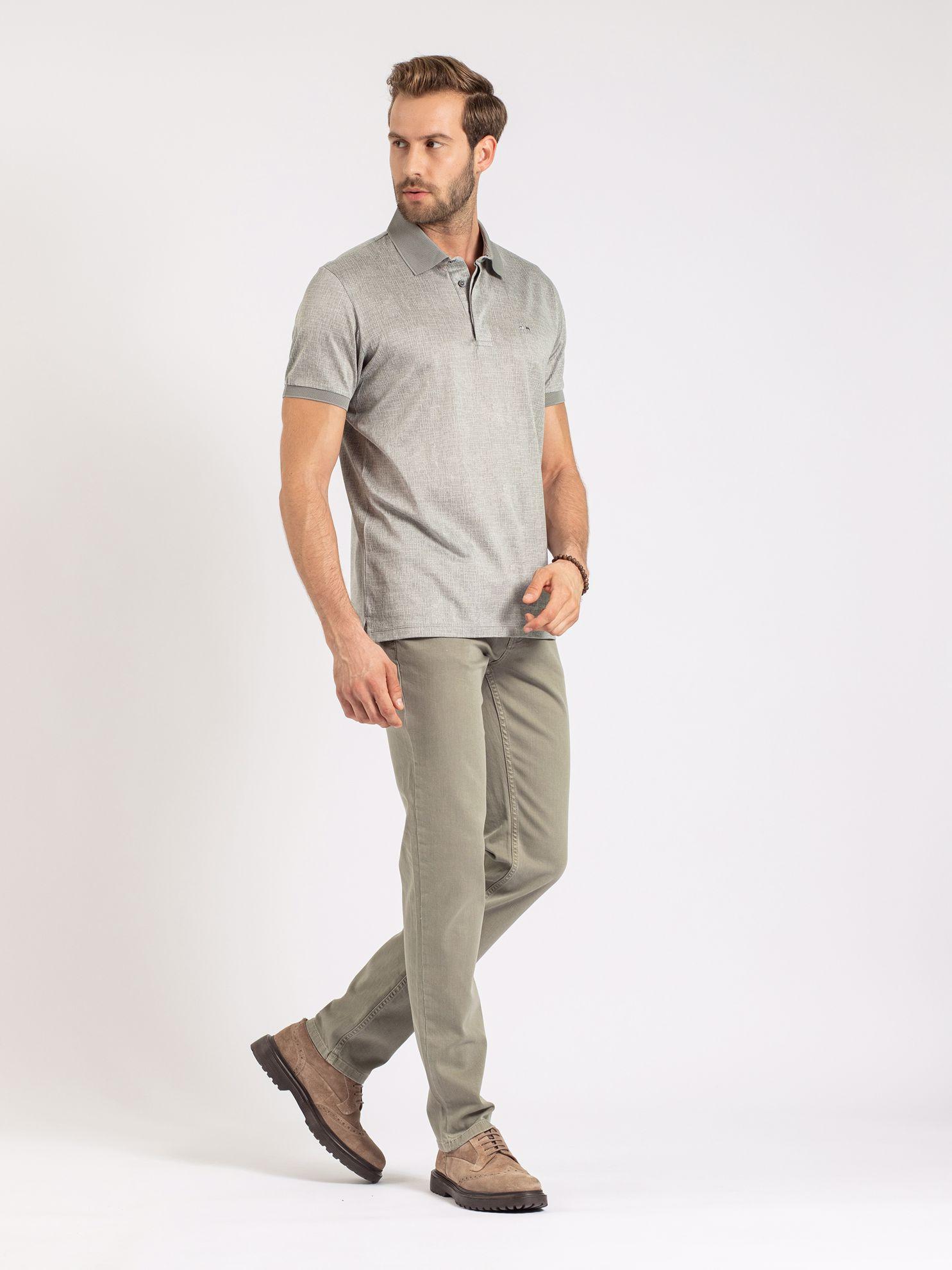 Karaca Erkek Regular Fıt Polo Yaka Tişört-Taş. ürün görseli